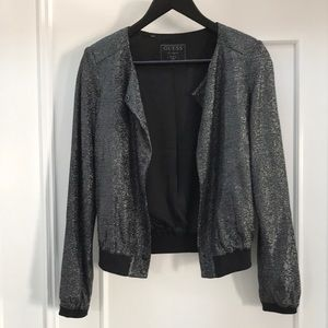 Guess vintage sparkly jacket size S